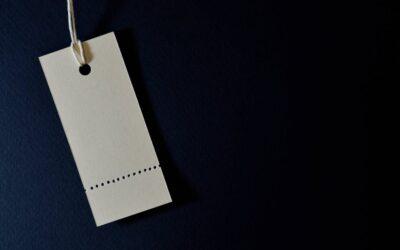 Også med design af etiketter og labels kan virksomheder være kreative
